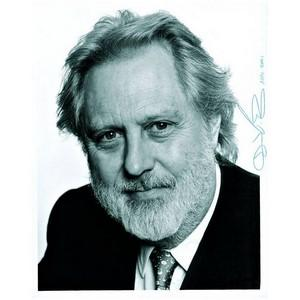 David Puttnam - Autograph - Signed Black and White Photograph