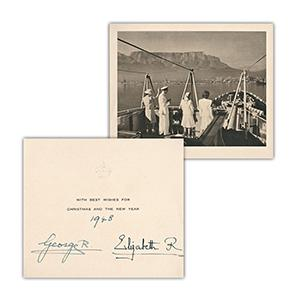 George VI and HM Queen Elizabeth, The Queen Mother - Signature