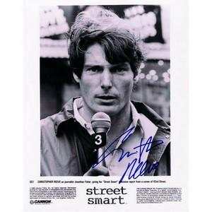 Christopher Reeve Signed Autographed Photograph. COA