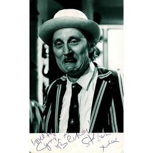 Stephen Lewis Autograph - Signed Black and White Photograph