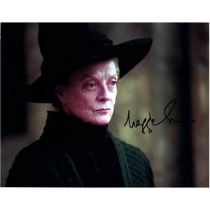 Maggie Smith - Autograph - Signed Colour Photograph