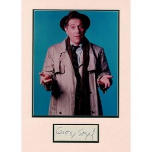George Segal - Autograph - Signed Colour Photograph
