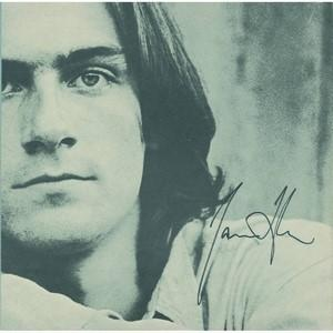 James Taylor - Autograph - Signed Lyric Sheet Insert