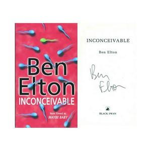 Ben Elton - Autograph - Signed Book