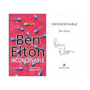 Ben Elton - Autograph - Signed Book