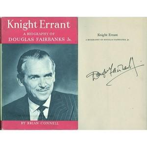 Douglas Fairbanks Jnr - Autograph - Signed Book