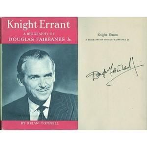 Douglas Fairbanks Jnr - Autograph - Signed Book