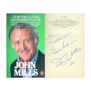 John Mills - Autograph - Signed Book