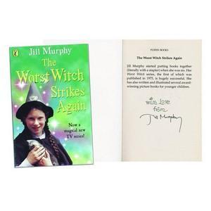 Jill Murphy - Autograph - Signed Book