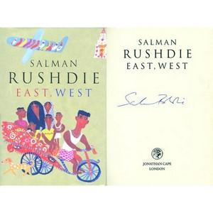 Salman Rushdie - Autograph - Signed Book