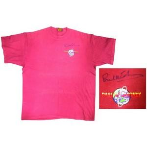 Paul McCartney Signed Shirt