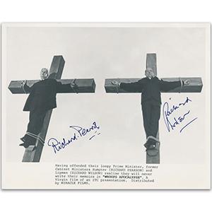 """Whoops Apocalypse"" - Richard Pearson & Richard Wilson Signed Photograph"