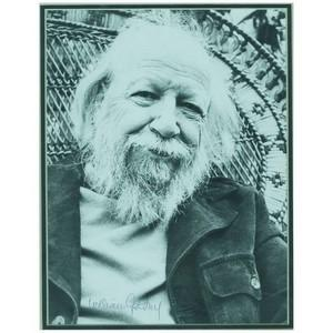 William Golding - Autograph - Signed Black and White Photograph