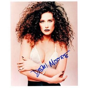 Demi Moore - Autograph - Signed Colour Photograph
