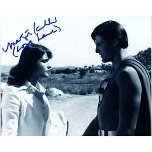 Margot Kidder - Autograph - Signed Black and White Photograph