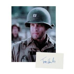 Tom Hanks - Autograph - Signed Page and Photograph