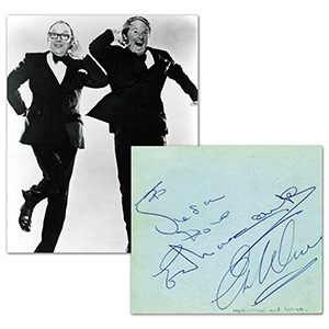 Morecambe and Wise Autographs