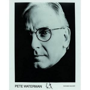 Pete Waterman - Autograph - Signed Black and White Photograph