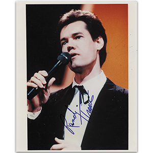Randy Travis - Autograph - Signed Colour Photograph