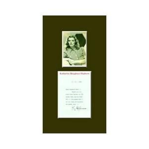 Katharine Hepburn - Autograph - Signed Letter and Photograph