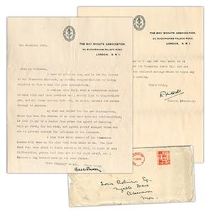 Lord Baden-Powell - Signature