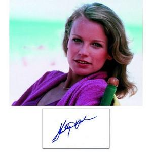 Shelley Hack - Autograph - Signed Colour Photograph