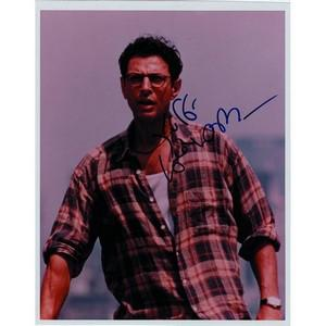 Jeff Goldblum - Autograph - Signed Colour Photograph