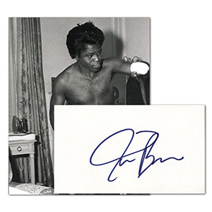 James Brown Autograph
