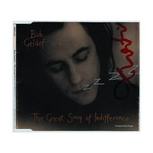 Bob Geldof - Autograph - Signed Single Cover