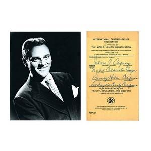 James Cagney - Autograph