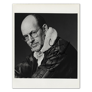 Frank Oz - Autograph - Signed Black and White Photograph
