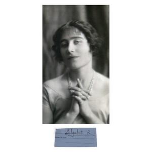 Queen Elizabeth, Queen Mother - Signature