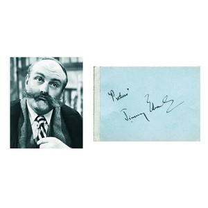 Jimmy Edwards Signature - Autograph