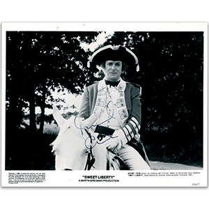 Michael Caine - Autograph - Signed Black and White Photograph
