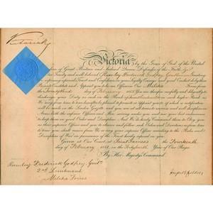 Queen Victoria - Signature