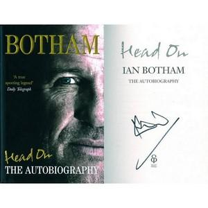 Ian Botham  - Autograph - Signed Book