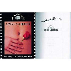 Sam Mendes Signature - American Beauty - Signed Book
