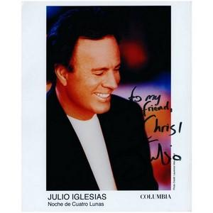Julio Iglesias - Autograph - Signed Colour Photograph