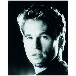 Val Kilmer - Autograph - Signed Black and White Photograph