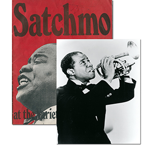 Louis Armstrong - Autograph - Signed Satchmo Programme