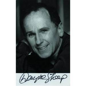 Wayne Sleep - Autograph - Signed Black and White Photograph