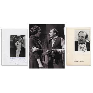 Leonard Rossiter &  Frances De La Tour