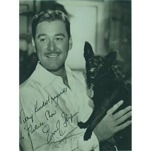 Errol Flynn (Framed)