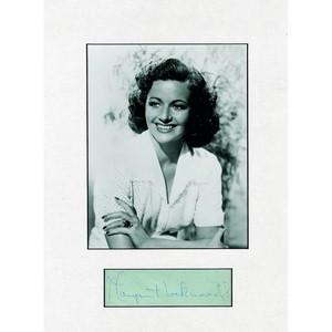 MARGARET LOCKWOOD SIGNED PHOT