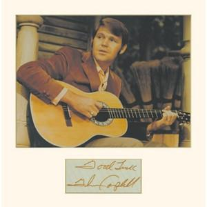Glen Campbell Signature - Framed