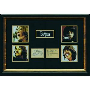 The Beatles - Autographs - Framed