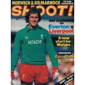 Ray Clemence - Autograph - Signed Magazine