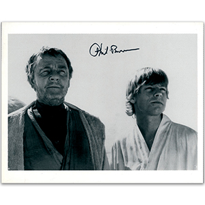 Phil Brown - Autograph - Signed Black and White Photograph