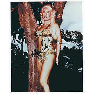 Mamie Van Doren - Autograph - Signed Colour Photograph