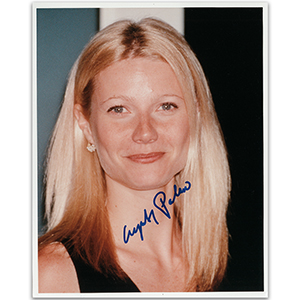 Gwyneth Paltrow - Autograph - Signed Colour Photograph